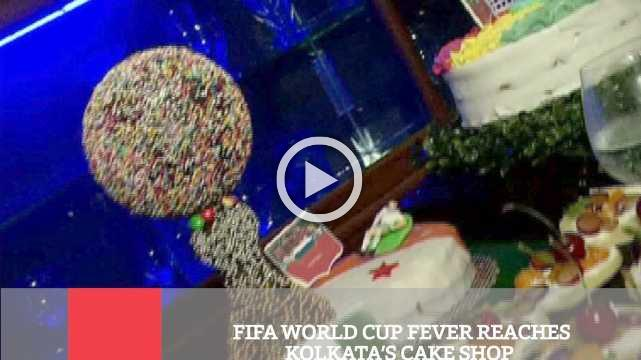Fifa World Cup Fever Reaches Kolkata's Cake Shop