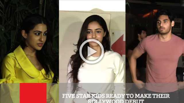Five Star Kids Ready To Make Their Bollywood Debut