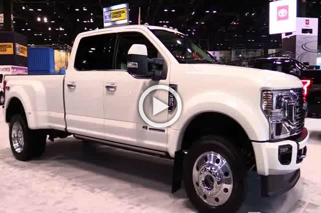 Ford F450 Super Duty Limited Exterior Walkaround Auto Show Part I