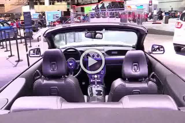 Ford Mustang Convertible Exterior and Interior Walkaround Part II