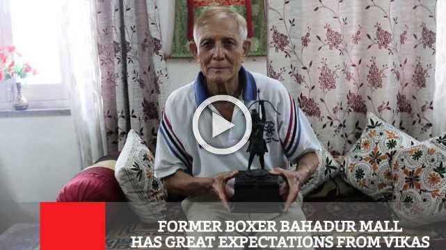FORMER BOXER BAHADUR MALL HAS GREAT EXPECTATIONS FROM VIKAS