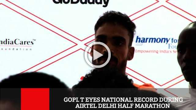 Gopi. T Eyes National Record During Airtel Delhi Half Marathon