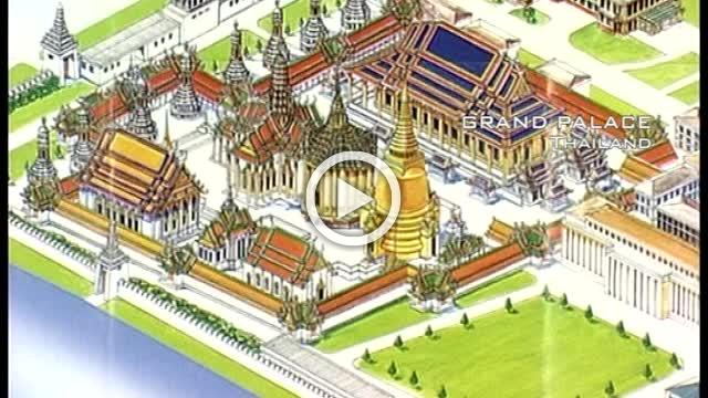 Beautiful Grand Palace in Thailand Part I