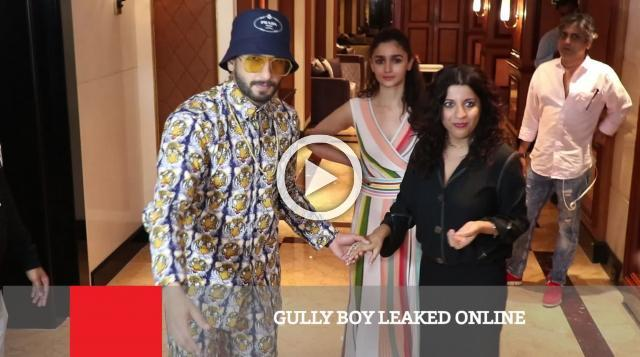 Gully Boy Leaked Online