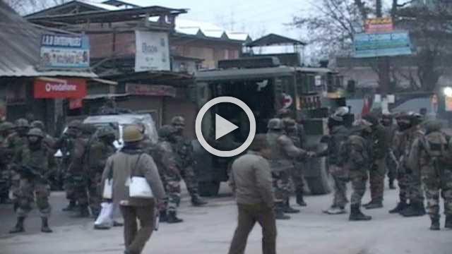 Gunbattle Between Security Forces, Militants In Baramulla's Pattan