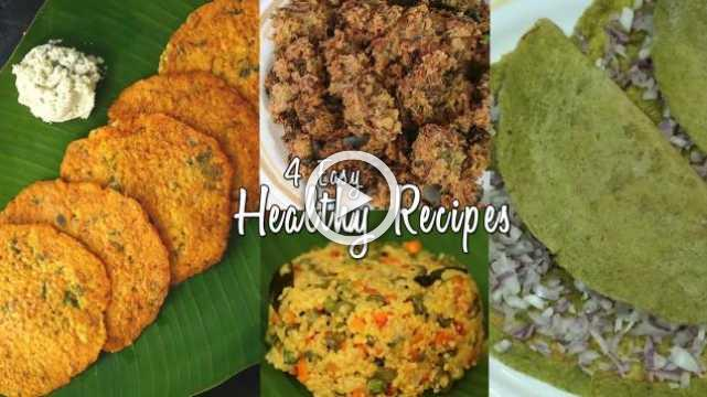 4 Easy Healthy Recipes | Ventuno Home Cooking