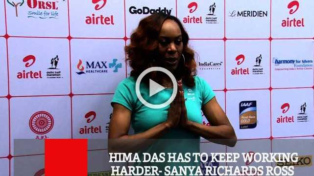 Hima Das Has To Keep Working Harder- Sanya Richards Ross