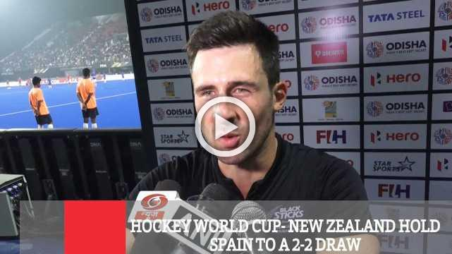 Hockey World Cup- New Zealand Hold Spain To A 2-2 Draw