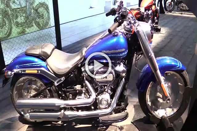 Harley Davidson Fat Boy Walkaround Motorbike Show