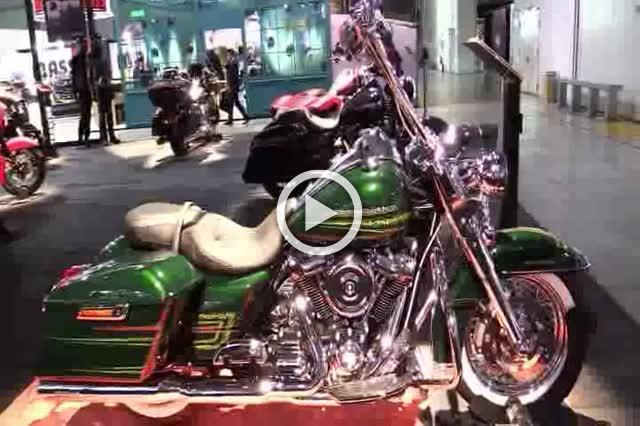 Harley Davidson Road King Accessorized Walkaround Part I