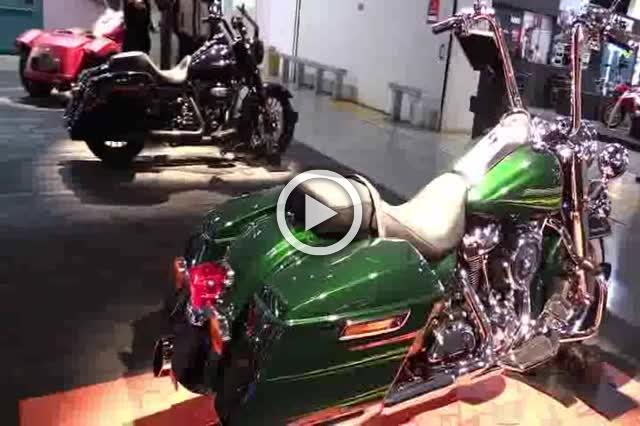 Harley Davidson Road King Accessorized Walkaround Part II