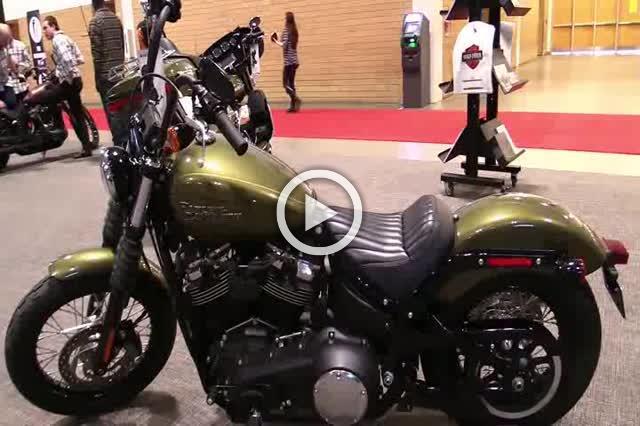 Harley Davidson Street Bob Walkaround Motorcycle Show Part II