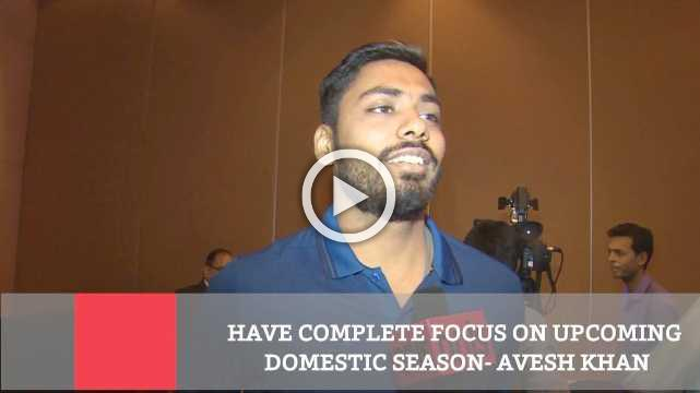 Have Complete Focus On Upcoming Domestic Season  Avesh Khan