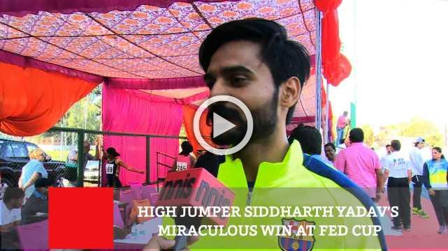 High Jumper Siddharth Yadav's Miraculous Win At Fed Cup