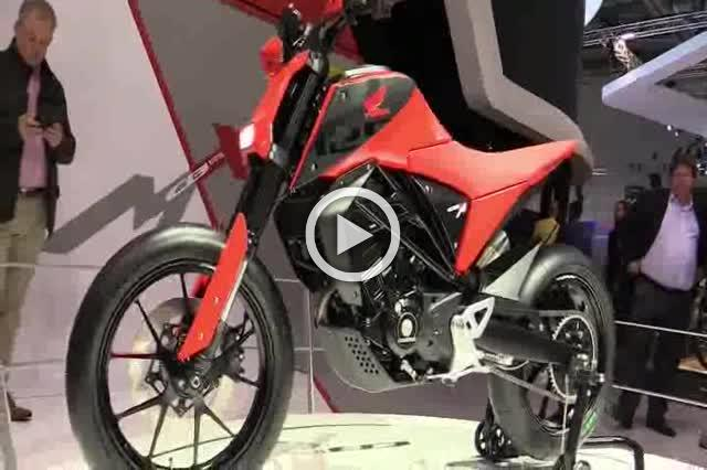 Honda CB125M Concept Walkaround 2019