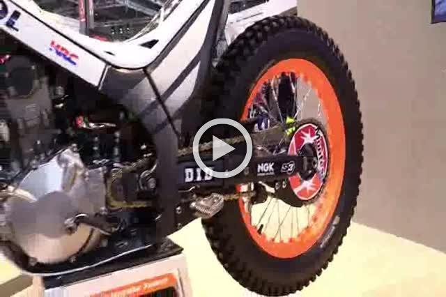 Honda Montesa Cota 4RT Racing Bike Walkaround Exhibition