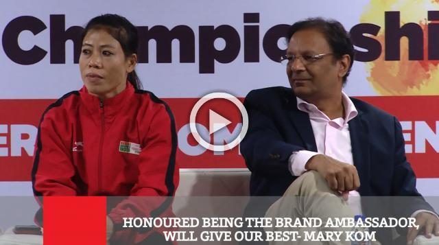 Honoured Being The Brand Ambassador, Will Give Our Best  Mary Kom