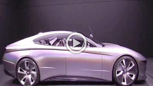 Hyundai Le Fil Rouge Concept Walkaround Motor Show