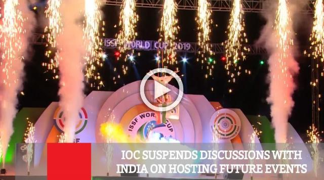 IOC Suspends Discussions With India On Hosting Future Events