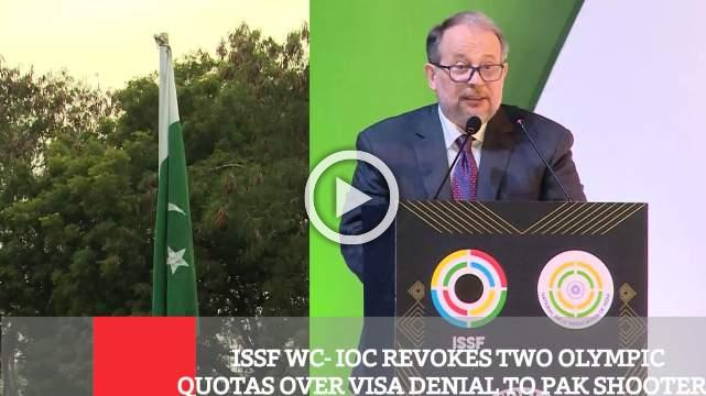 ISSF WC- IOC Revokes Two Olympic Quotas Over Visa Denial To Pak Shooters
