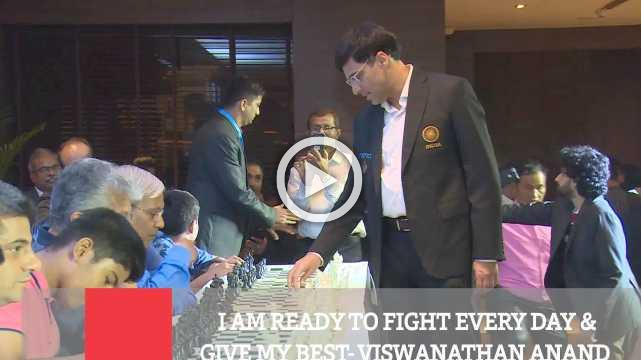 I Am Ready To Fight Every Day & Give My Best- Viswanathan Anand