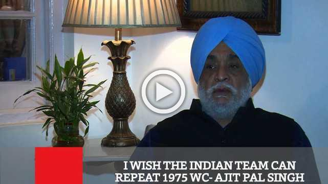 I Wish The Indian Team Can Repeat 1975 WC  Ajit Pal Singh