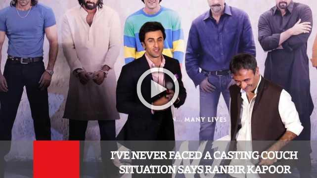 I've Never Faced A Casting Couch Situation Says Ranbir Kapoor