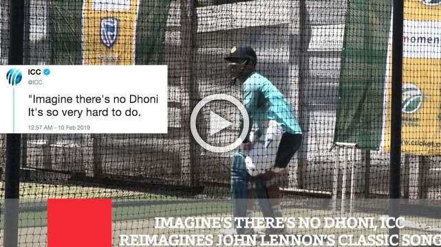 Imagine's There's No Dhoni, ICC Reimagines John Lennon's Classic Song