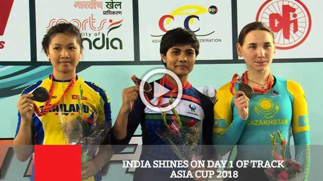 India Shines On Day 1 Of Track Asia Cup 2018