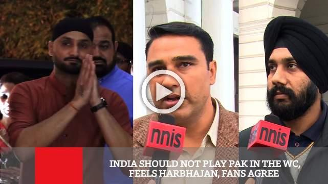 India Should Not Play Pak In The WC, Feels Harbhajan, Fans Agree