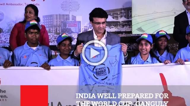 India Well Prepared For The World Cup Ganguly