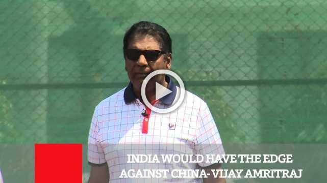 India Would Have The Edge Against China- Vijay Amritraj