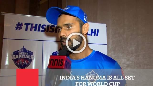 India's Hanuma Is All Set For World Cup