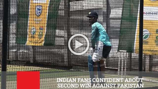 Indian Fans Confident About Second Win Against Pakistan