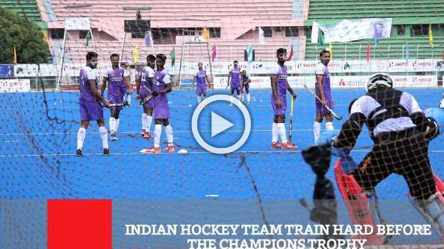 Indian Hockey Team Train Hard Before The Champions Trophy