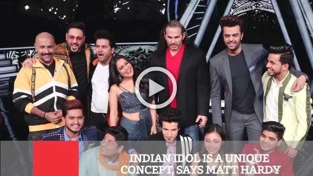 Indian Idol Is A Unique Concept, Says Matt Hardy