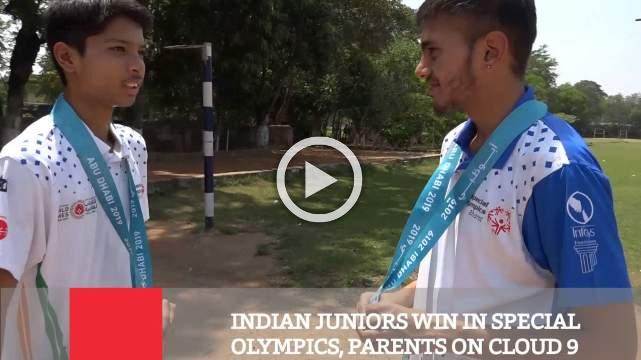 Indian Juniors Win In Special Olympics, Parents On Cloud 9