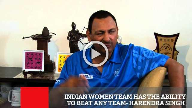 Indian Women Team Has The Ability To Beat Any Team- Harendra Singh