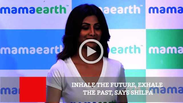 Inhale The Future, Exhale The Past, Says Shilpa