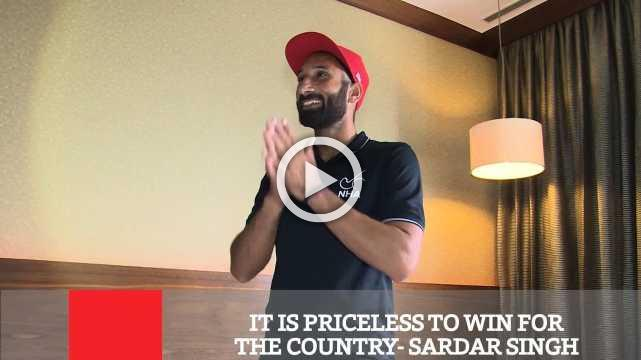 It Is Priceless To Win For The Country- Sardar Singh