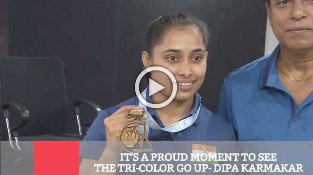 It's A Proud Moment To See The Tri Color Go Up  Dipa Karmakar