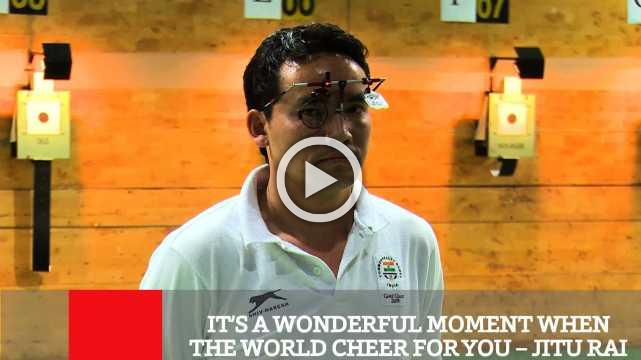 It's A Wonderful Moment When The World Cheer For You – Jitu Rai