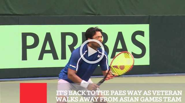 It's Back To T  he Paes Way As Veteran Walks Away From Asian Games Team