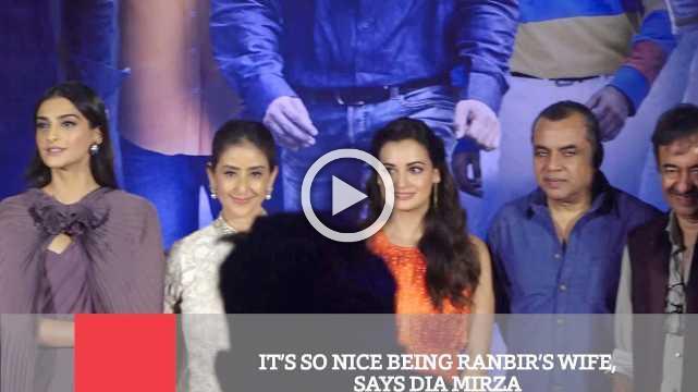 It's So Nice Being Ranbir's Wife, Says Dia Mirza
