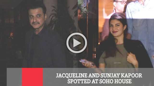 Jacqueline And Sanjay Kapoor Spotted At Soho House