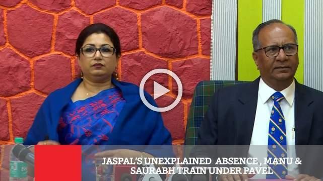 Jaspal's Unexplained  Absence , Manu & Saurabh Train Under Pavel