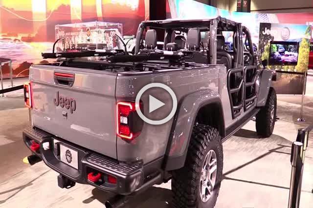 Jeep Gladiator Mopar Accessorized Exterior and Interior Walkaround Part II