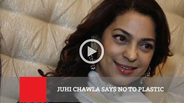 Juhi Chawla Says No To Plastic