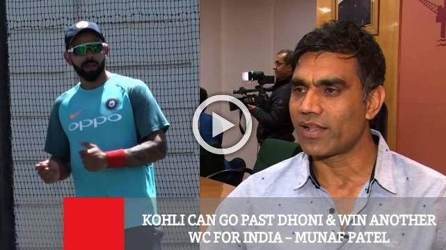 Kohli Can Go Past Dhoni & Win Another Wc For India – Munaf Patel