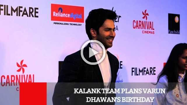 Kalank Team Plans Varun Dhawan's Birthday